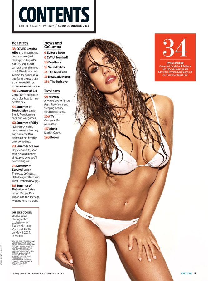 043b4a124f5aa ... Jessica Alba for the current cover of Entertainment Weekly. 5.22.14     matthias vriens-mcgrath